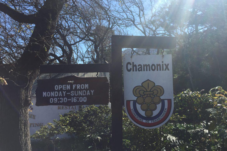 Wine on the Slopes at Chamonix