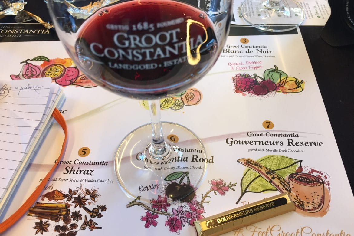 'Out of the Office' at Groot Constantia