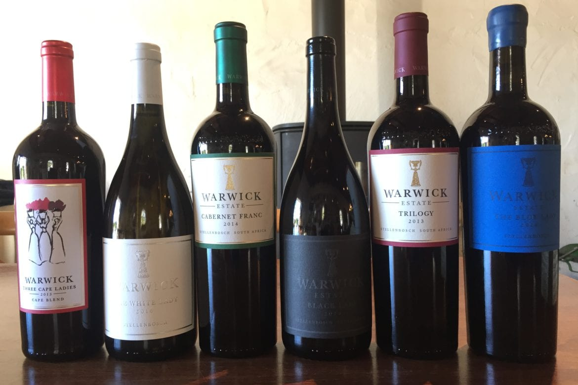 Warwick Wines Win their Colours