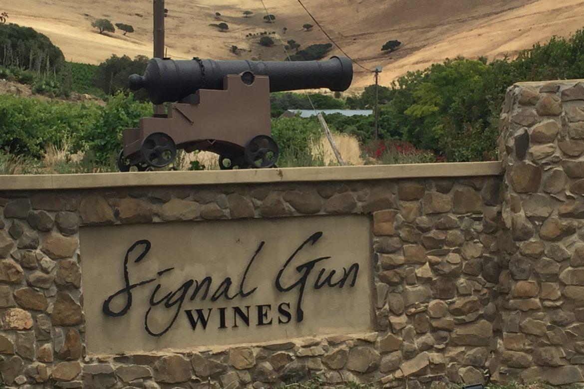 There's No Gun Smoke Without Wine