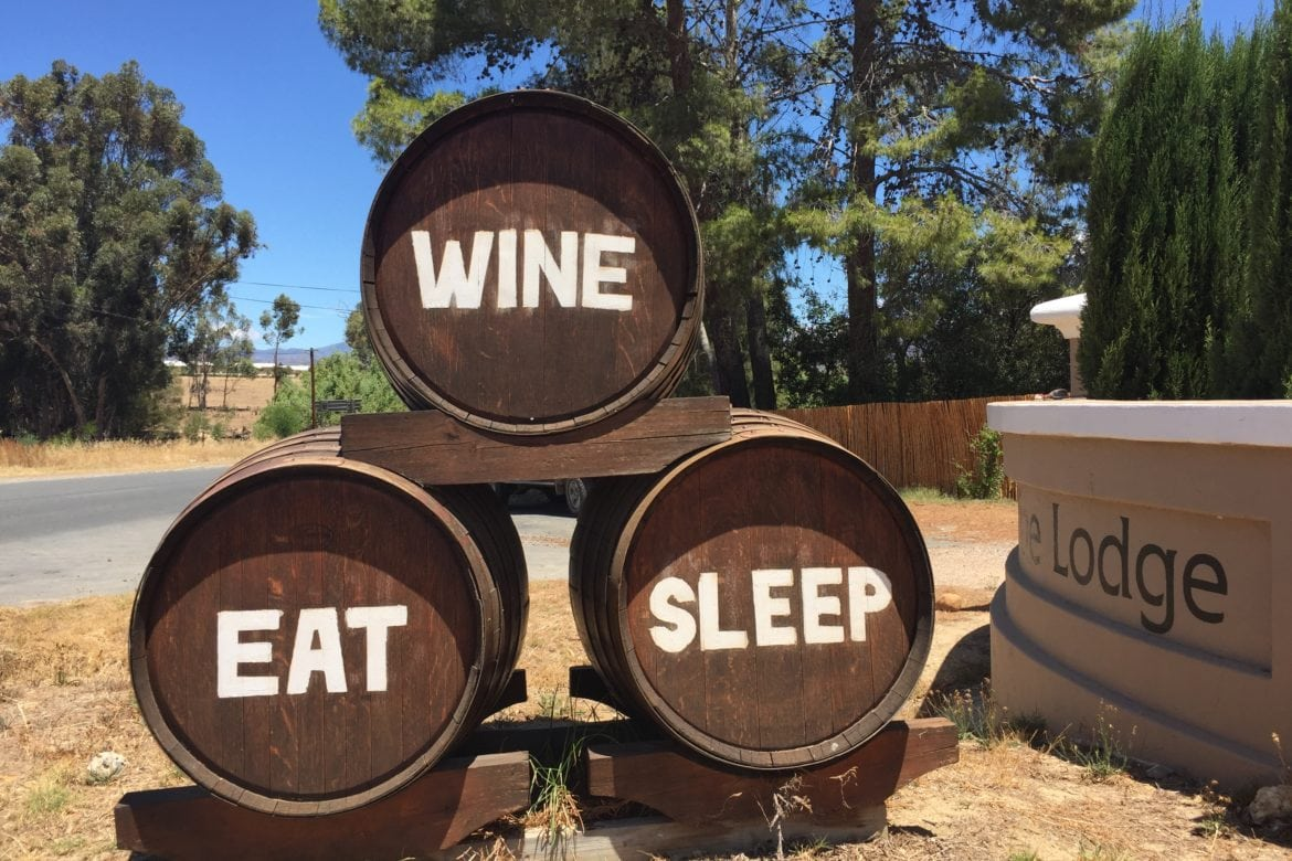 Shiraz Purrs at Manley Wine Lodge