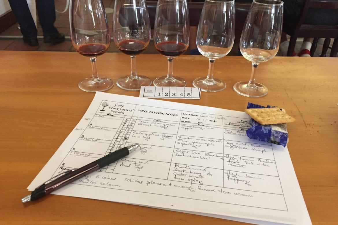 NEXT MEETING – THURSDAY 5 APRIL – INTRODUCTION TO WINE-TASTING – IT'S FUN!
