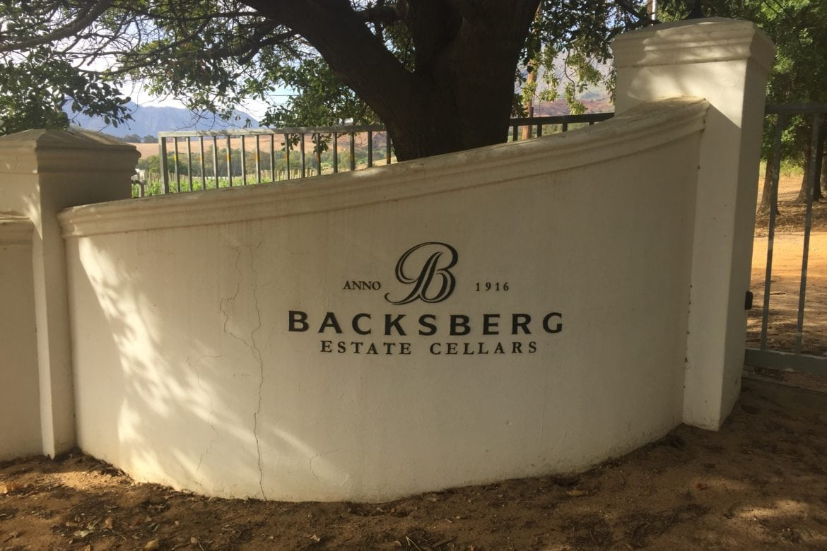 Back to the Future in the Berg of Paarl