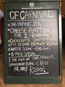 Cabernet Franc Carnival