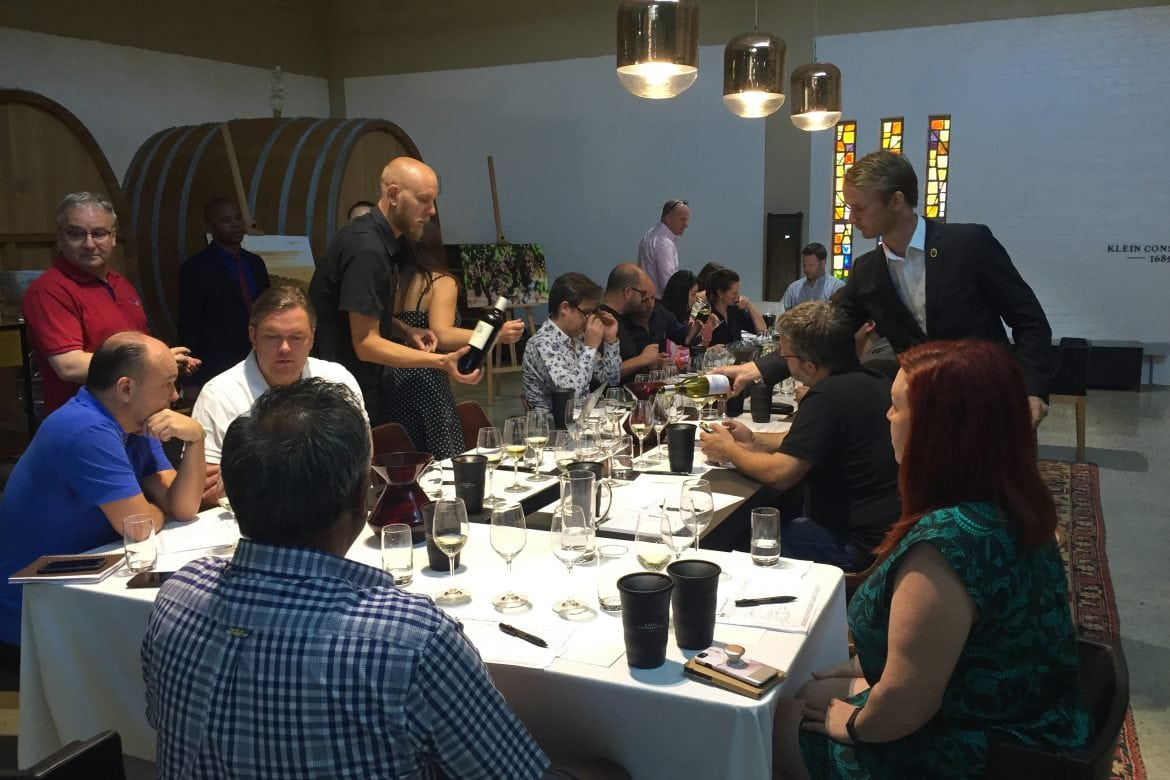 Speed Tasting with Sommelier 'Royalty' at my First SASA Meeting