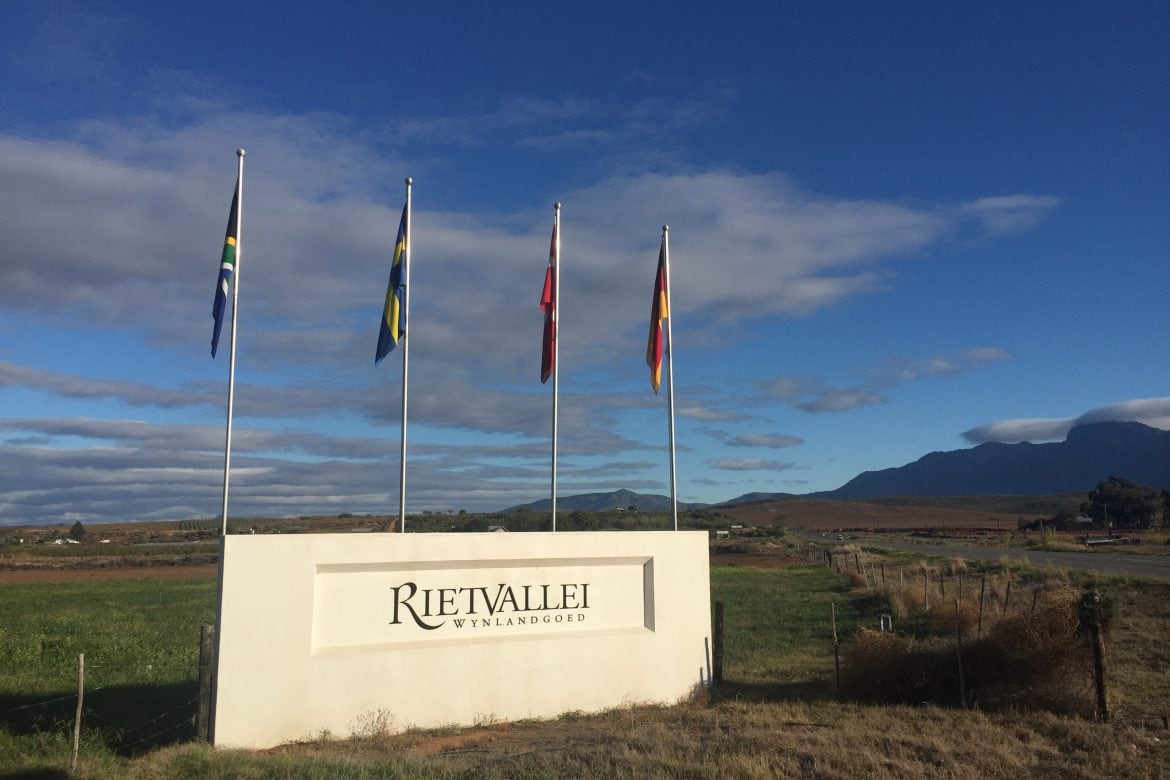An Early Start at Rietvallei
