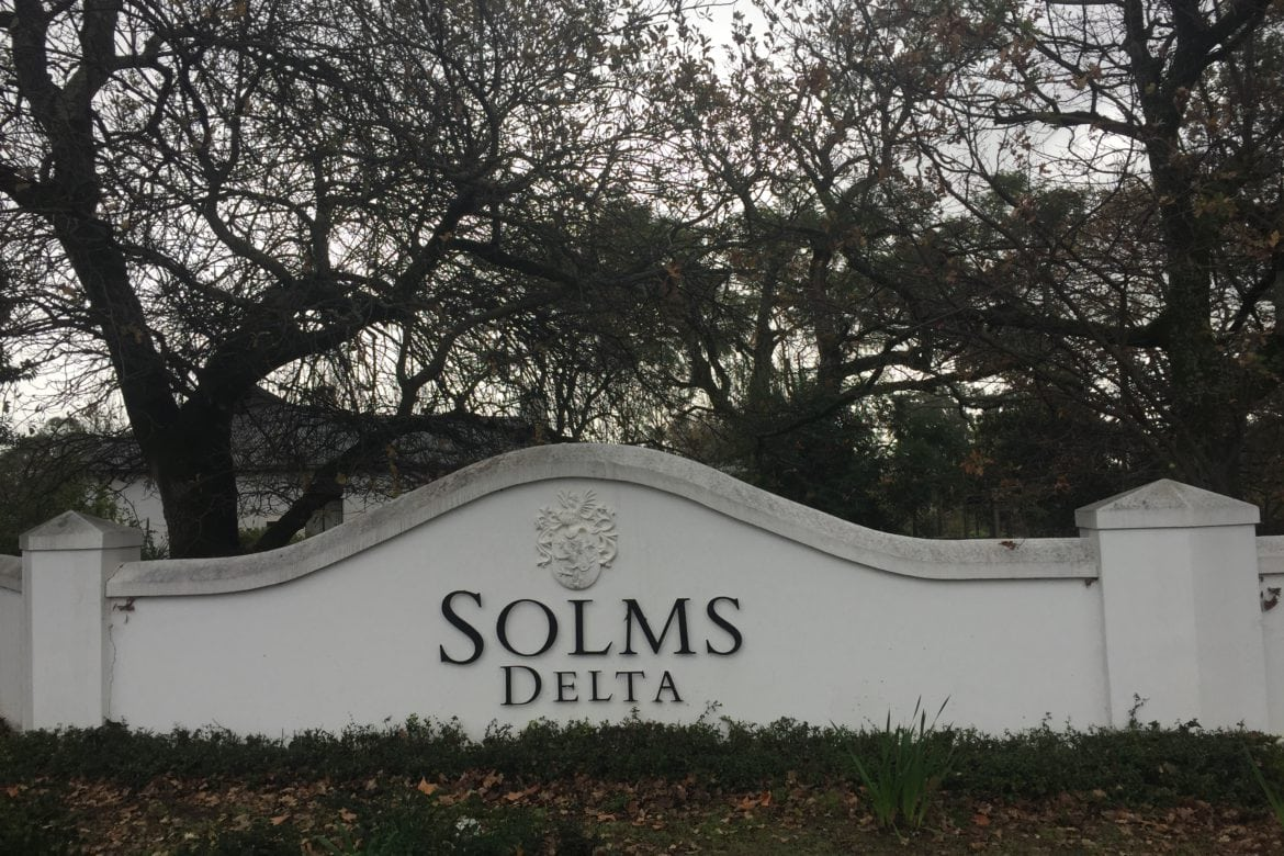 Slave to the Rhythm at Solms-Delta