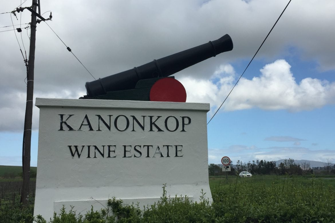 Wines Out of the Barrel at Kanonkop