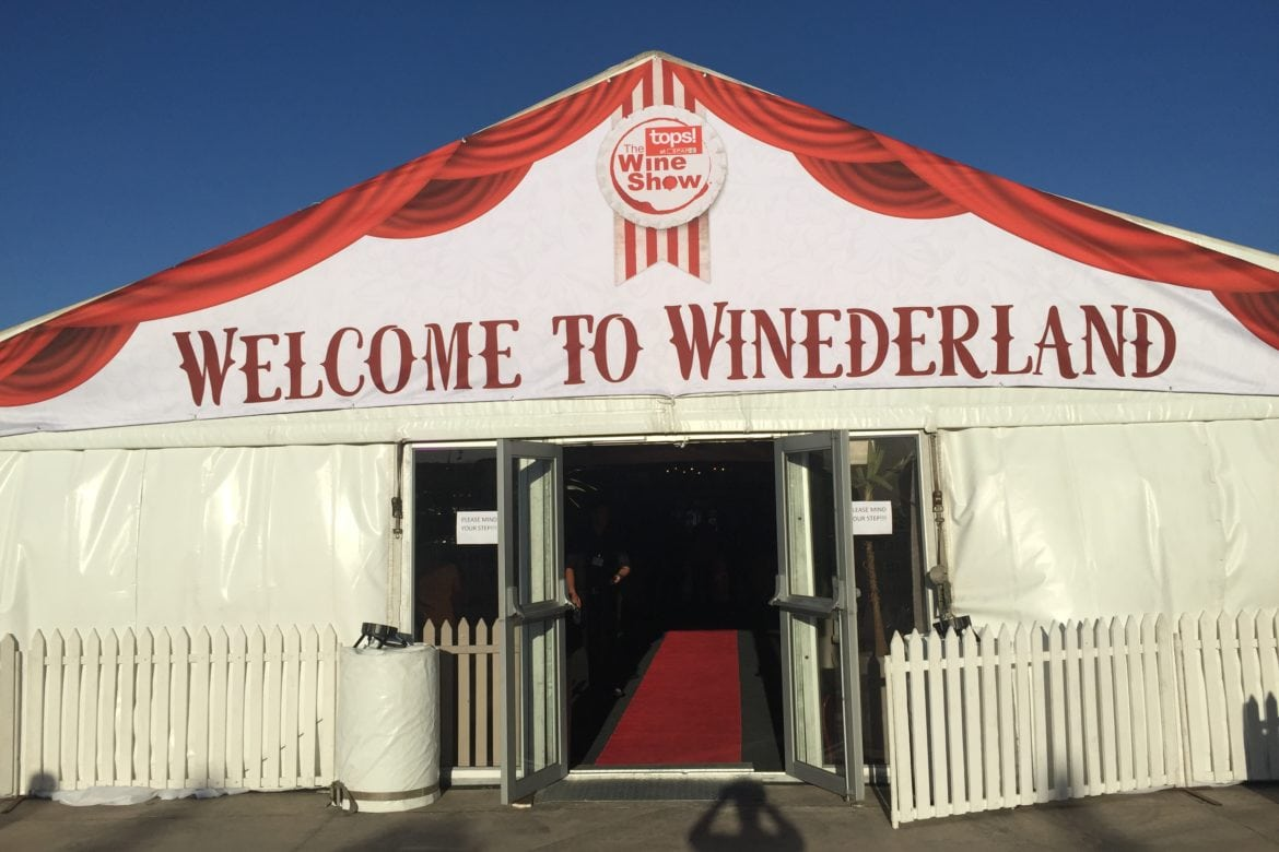 Grand Wines at the Big Top!