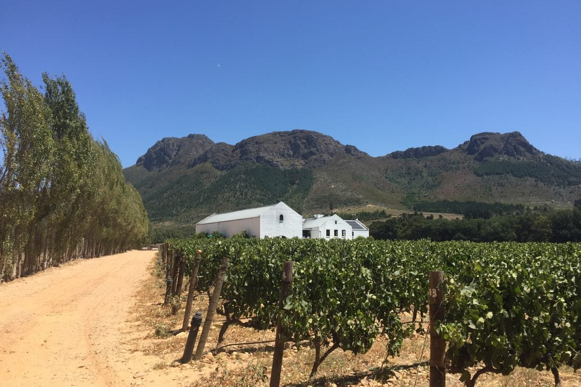 Franschhoek's Hidden Gem Is Reluctant to Reveal