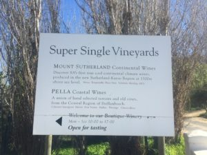 Super Single Vineyards