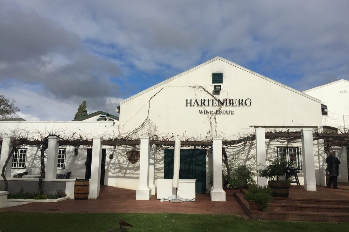 Hearty Food and Wine Brought by the Stork at Hartenberg