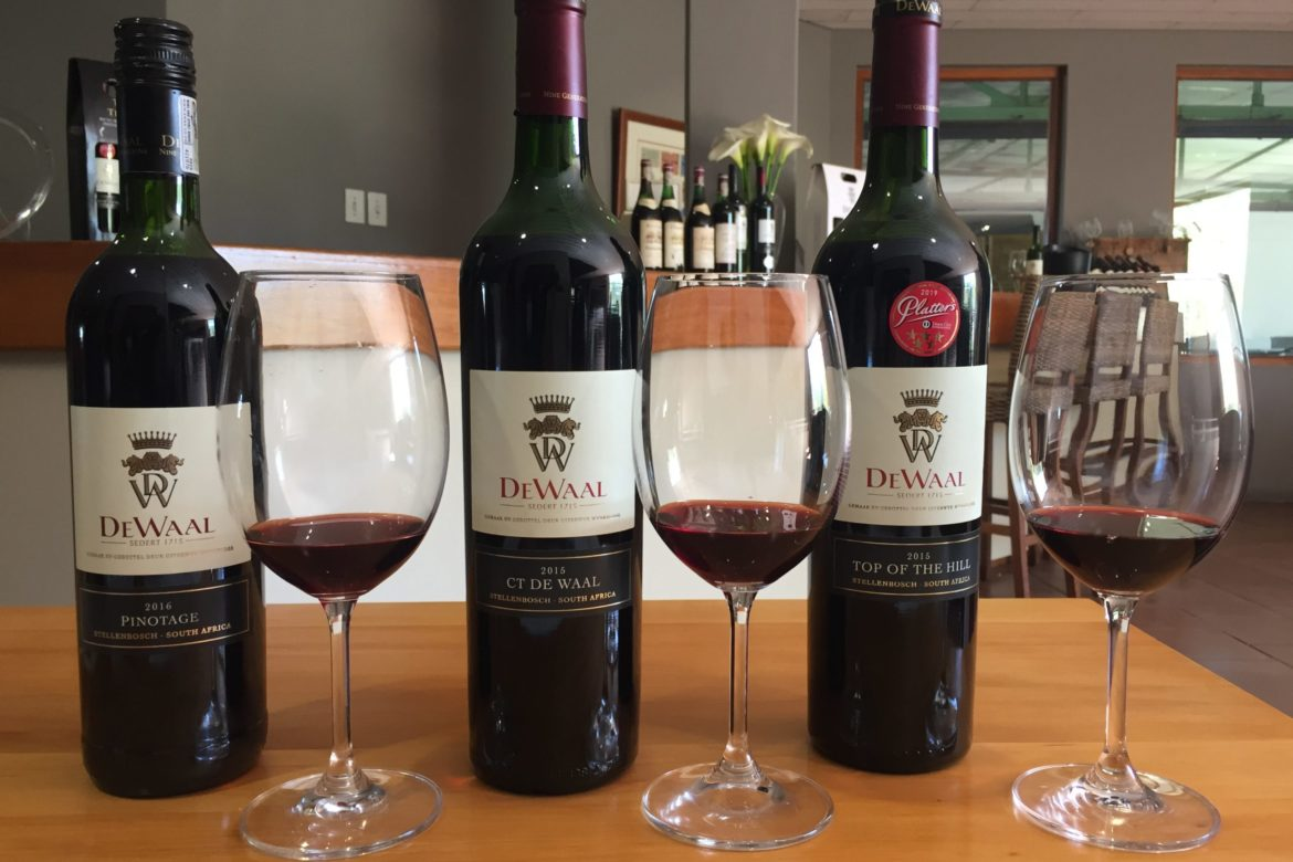 DeWaal Sits Atop the Pinotage Hill
